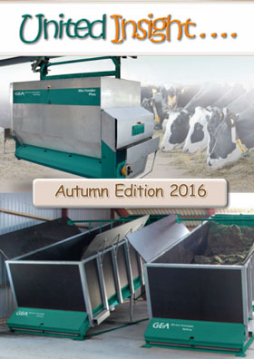 Cover image of United Milking Systems' newsletter United Insight Autumn 2016
