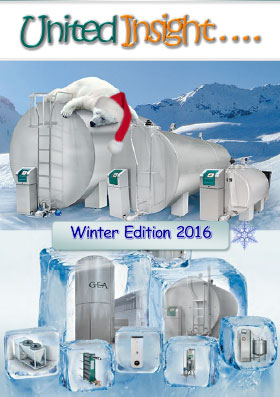 Cover image of United Milking Systems' newsletter United Insight Winter 2016