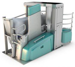 Monobox automated milking