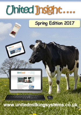 Cover image of United Milking Systems' newsletter United Insight Spring 2017